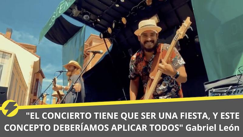 """""""El concierto tiene que ser una fiesta, y este concepto deberíamos aplicar todos"""" Gabriel León"""