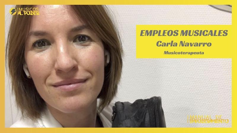 Entrevista a Carla Navarro. Musicoterapia
