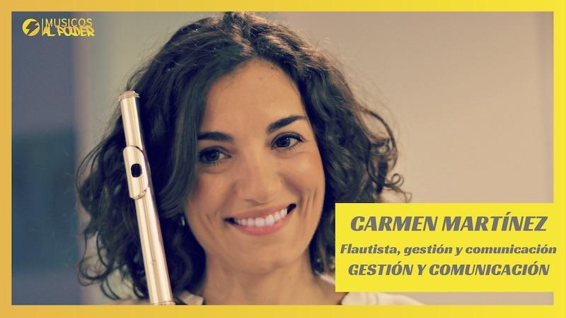 Entrevista a Carmen Martínez Guerra. Comunicación y gestión musical
