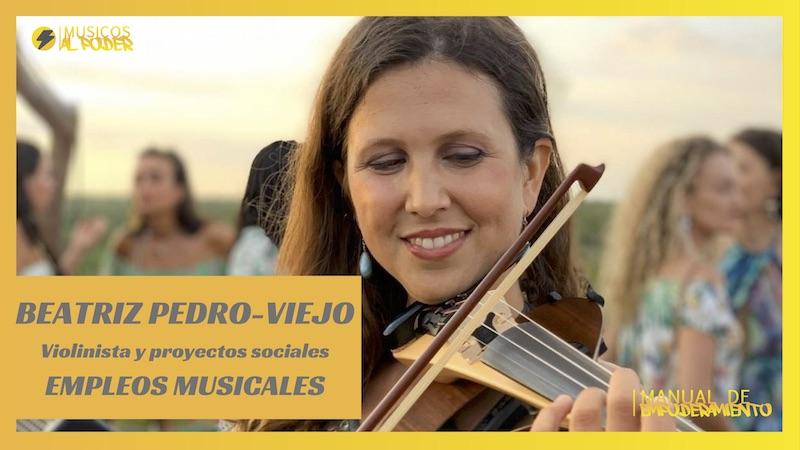 Entrevista a Beatriz Pedro-Viejo. Gestora de proyectos de música para el cambio social