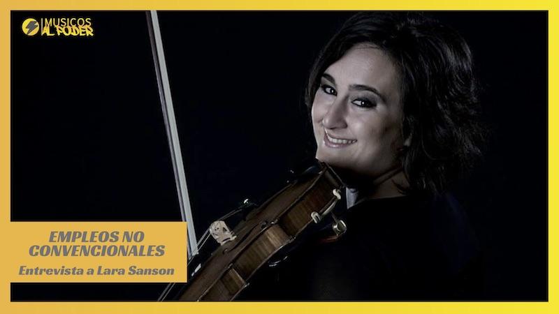 Empleos musicales no convencionales – Entrevista a Lara Sanson